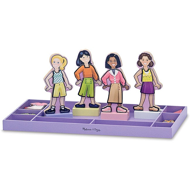 Melissa & Doug Best Friends Forever! Magnetic Dress-Up Play Set
