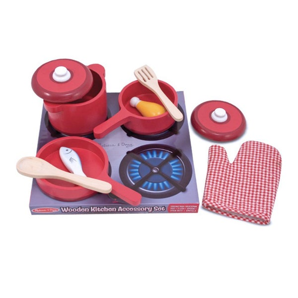 Melissa & Doug Kitchen Accessory Play Set