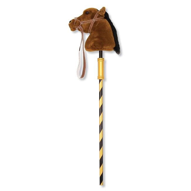 Melissa & Doug Plush Gallop-N-Go Stick Pony Animal Toy