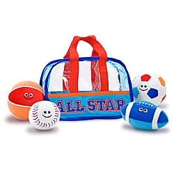 Melissa & Doug Sports Bag Fill and Spill Toy Set