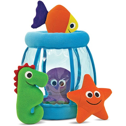 Melissa & Doug Fishbowl Fill and Spill Toy Set