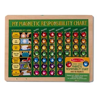 Melissa & Doug Magnetic Responsibility Chart Play Set