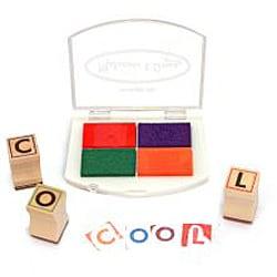 Melissa & Doug Alphabet Stamp Set - Thumbnail 1