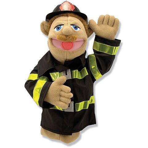 Melissa & Doug Chief Walter Blaze Firefighter Puppet