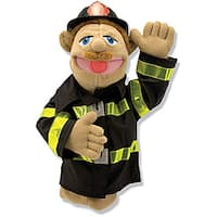 Melissa & Doug Chief Walter Blaze Firefighter Puppet