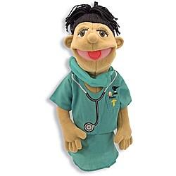 Melissa & Doug Dr. Susan Chartwell Surgeon Puppet