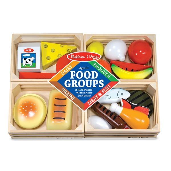Melissa & Doug Food Groups Play Set