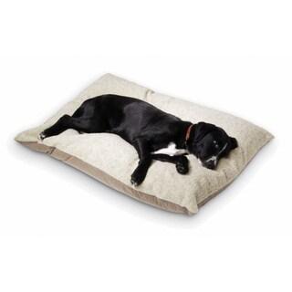Hidden Valley Medium Tan Rectangle Ultra Sherpa Dog Bed