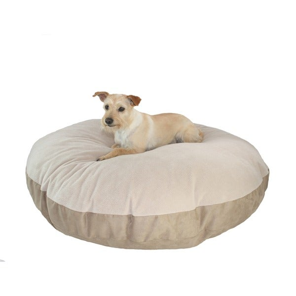 Shop Hidden Valley Extra Large Tan Round Ultra Sherpa Dog