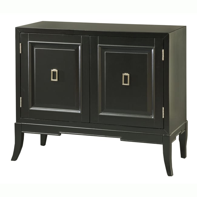 Painted Black Accent Chest - Thumbnail 0