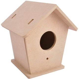 Beyond The Page MDF Bird House