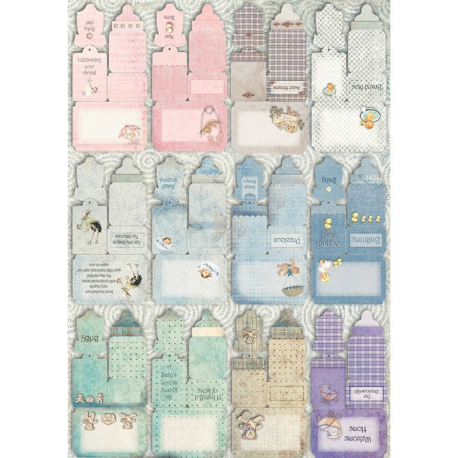 Vintage Baby Journal Die-cuts 48-page Book