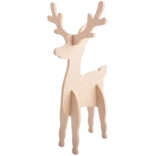 Shop Beyond The Page Mdf Reindeer Free Shipping On