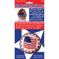 Cupcake Creations Stars-and-Stripes Standard Baking Cups (Pack of 32)