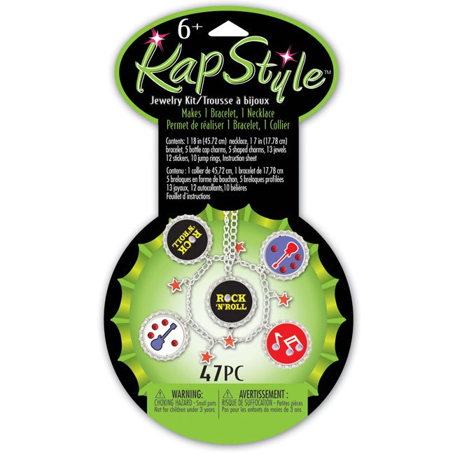 Kapstyle Rock Star Rock and Roll Jewelry Kit