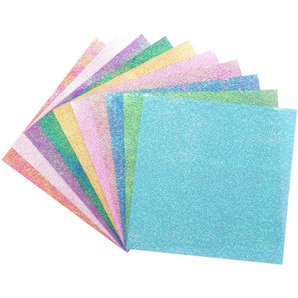 Global Arts Materials 'Textured Iridescent Dot Embossing' Folia Origami Paper (Case of 50)
