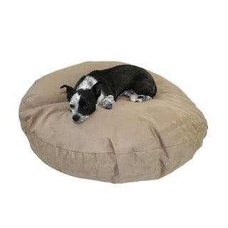Hidden Valley Extra Large Tan Round Dog Bed