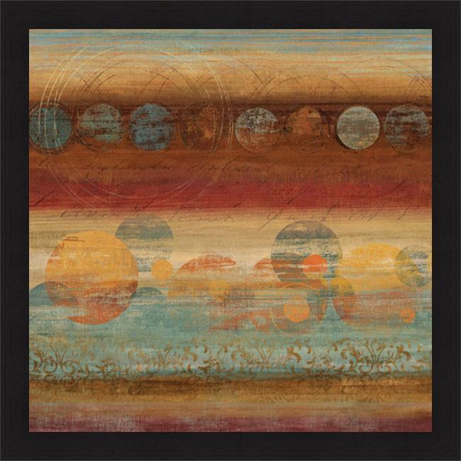 Tom Reeves 'Pattern Play II' Framed Print