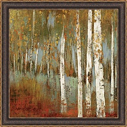 Allison Pearce 'Along The Path I' Framed Print