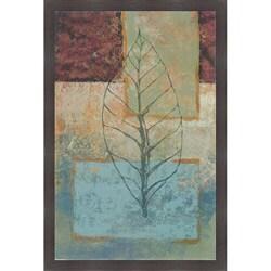 Richard Ivy 'Water Leaf I' Framed Print