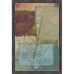 Richard Ivy 'Water Leaf II' Framed Print