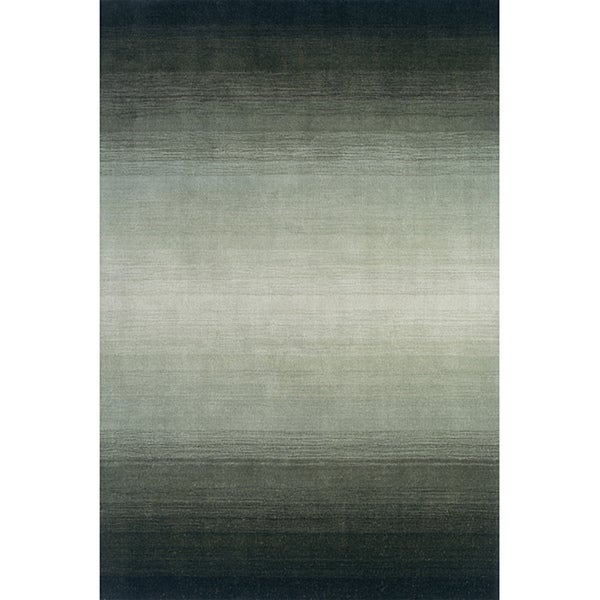 Momeni Metro Forest Green Hand-Tufted Wool Rug (8' X 11') - 8' x 11'