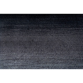 Momeni Metro Midnight Black Hand-Tufted Wool Rug (5' X 8')