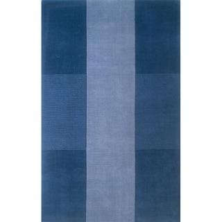 Momeni Metro Light Blue Hand-Tufted Wool Rug (3'3 X 5'3)