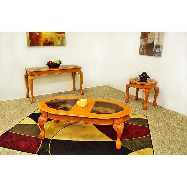 Woodmere Oak Coffee Table Set