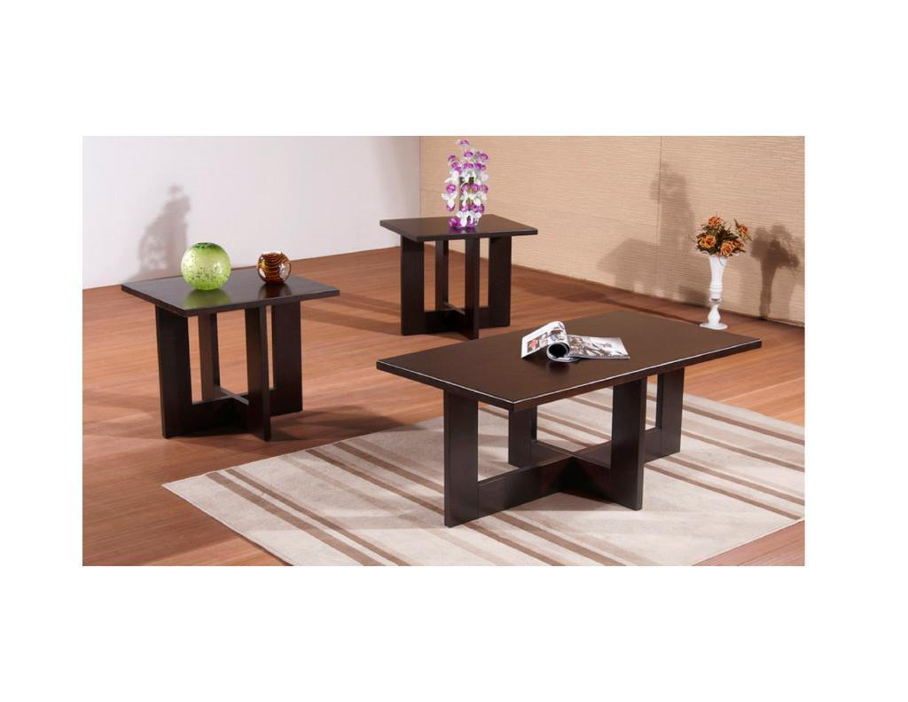 Berlap Cherry Coffee Table Set