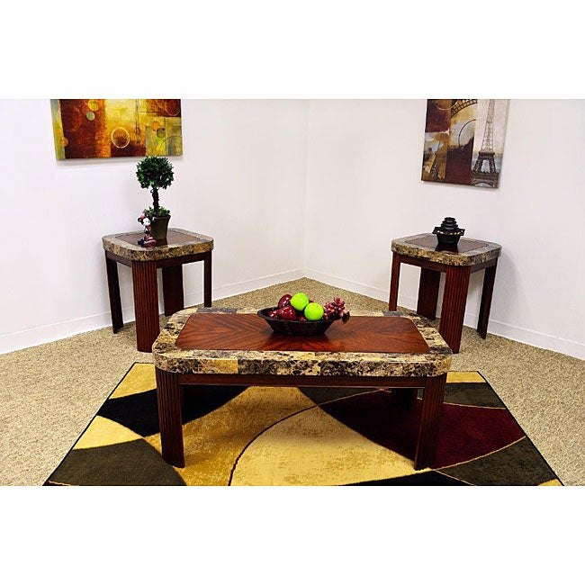 Marbella Cherry Coffee Table Set