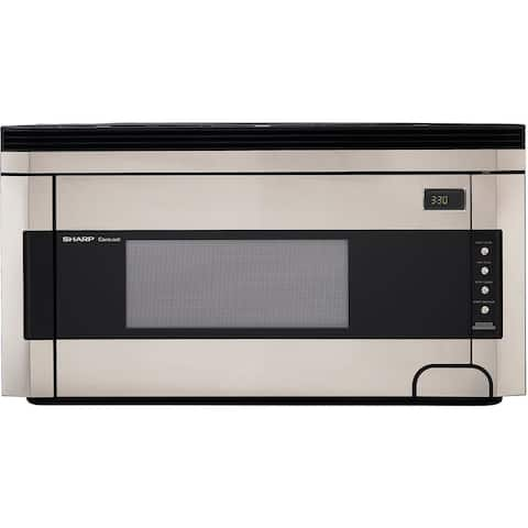 Sharp R1514T 1.5-cu-ft Over-the-Range Microwave Oven