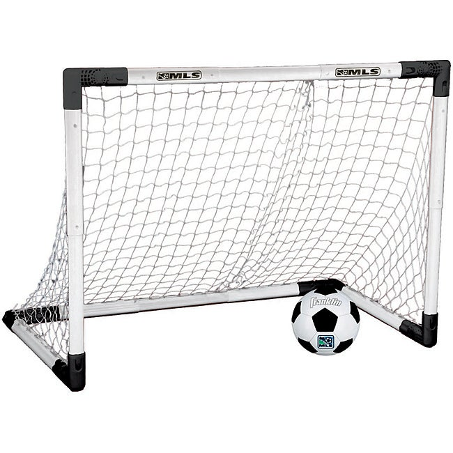 "Franklin Sports MLS Adjustable Insta-Set Soccer Goal and Ball Set - 26.5""w x 37.5""l"