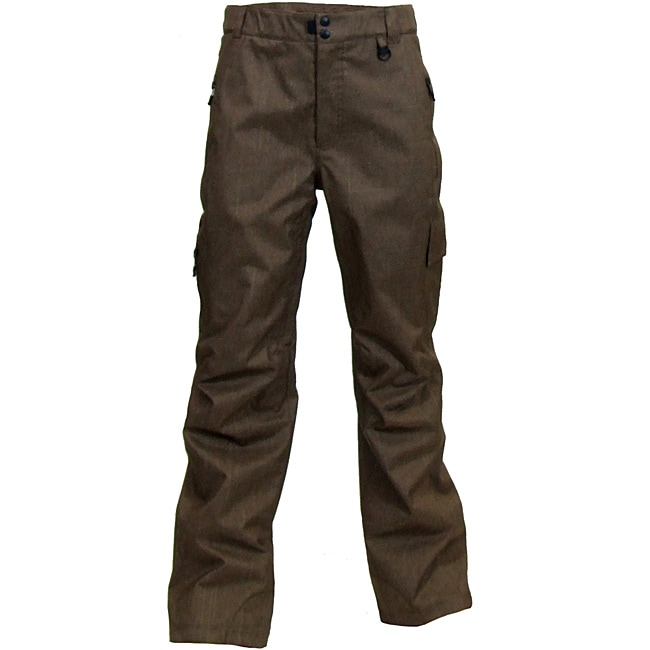 Boulder Gear Men's Charge Brown Ski Pants