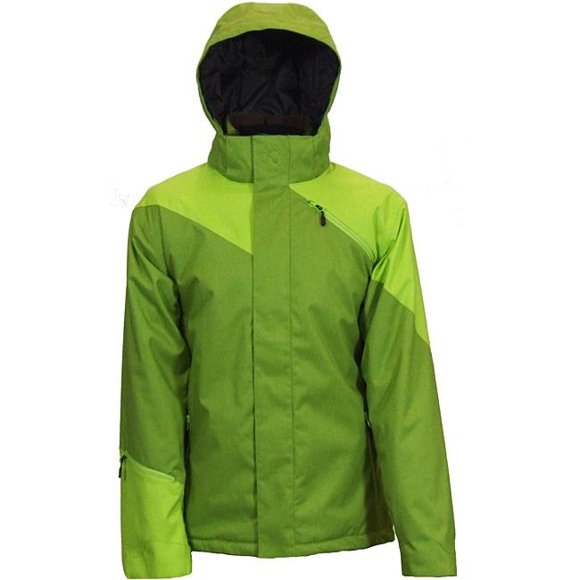 Boulder Gear Men's Fresh Stash Olive Ski Jacket