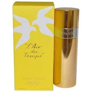 Nina Ricci 'L'air du Temps' Women's 3.3-ounce Eau de Toilette Spray (Refillable)