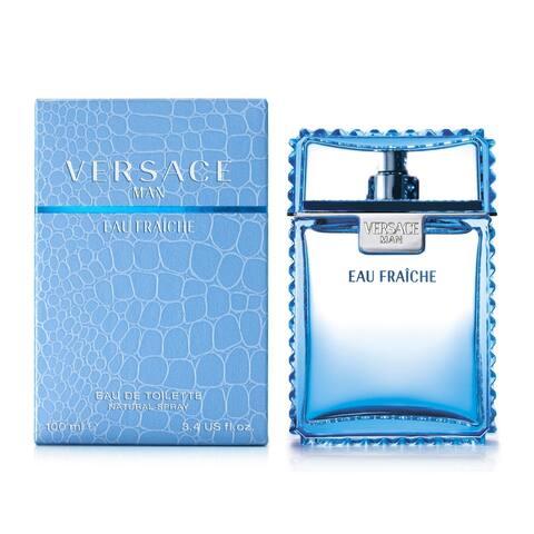 Versace Man Eau Fraiche Men's 0.17-ounce Eau de Toilette Splash (Mini)