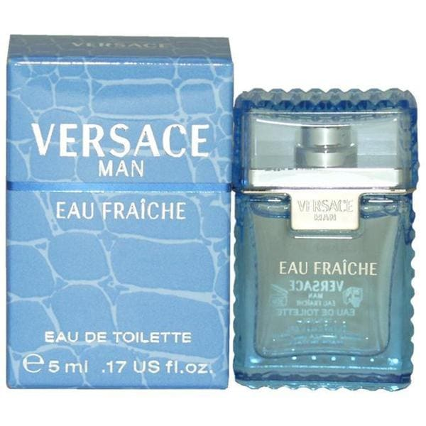 Versace Man Eau Fraiche Men's 0.17-ounce Eau de Toilette Splash (Mini)