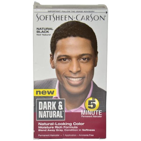 Shop Dark & Natural Men\'s Natural Black Permanent Hair Color - Free ...