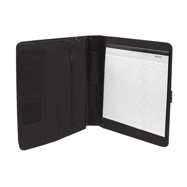iPad Organizer All-in-one Black Nylon Tablet Case