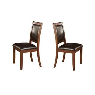 Dark Walnut Dining Chairs (Set of 2)