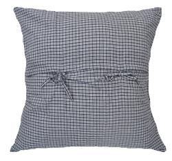 Caftan Traditional Patchwork Denim Euro Throw Pillow - Thumbnail 1