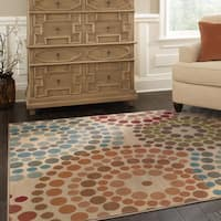 Oliver & James Abdy MultiColor Abstract Area Rug - 6'7 x 9'6
