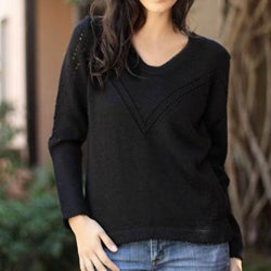 Women's Alpaca Wool 'Cuzco Grace' Sweater (Peru)