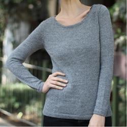 Handmade Women's Alpaca Wool 'Silver Charm' Sweater (Peru)