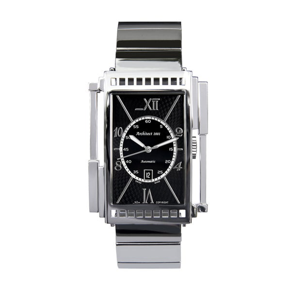 Shop xezo men 39 s architect swiss made automatic watch free shipping today 6220012 for Xezo watches