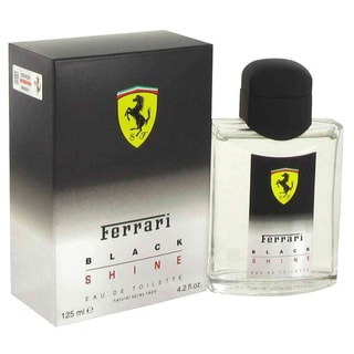 Ferrari Black Shine Men's 4.2-ounce Eau de Toilette Spray