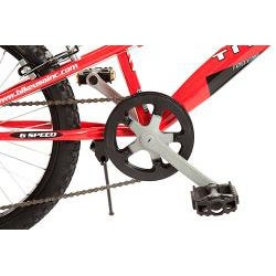 Titan Blaze Red/ White 20-inch BMX Bicycle - Thumbnail 1