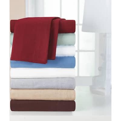 Heavyweight Cotton Flannel Bed Sheet Set