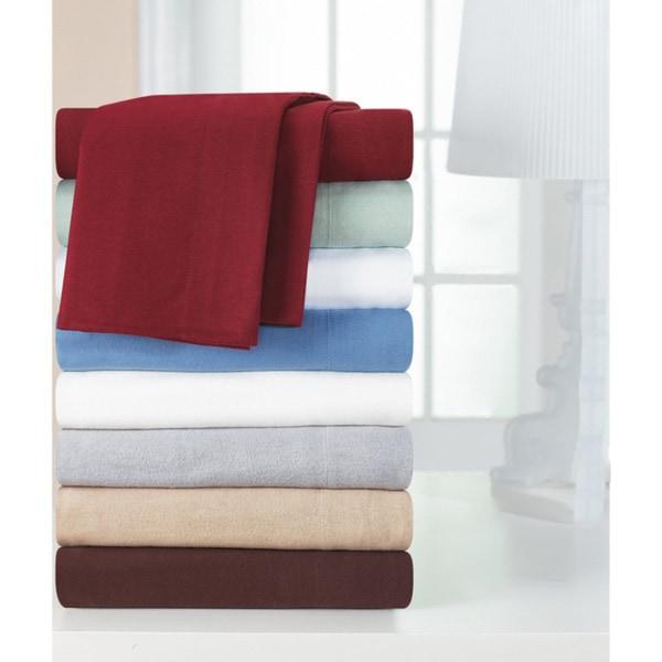 Heavyweight Cotton Flannel Deep Pocket Sheet Set